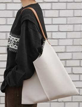 Moon line shoulder bag_K (size : one)
