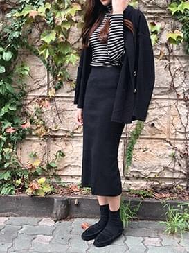 Double-Beige Knit Jacket