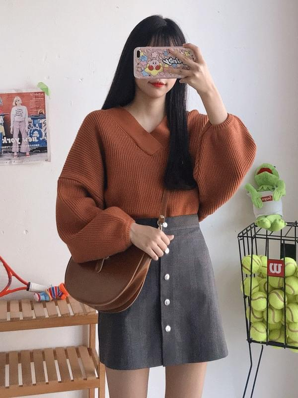 Hammul neck knit