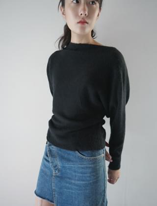 charming off-shoulder knit (7colors)