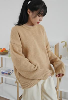 Various color alpaca knit
