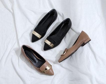 Mariva Stiletto Flat Shoes