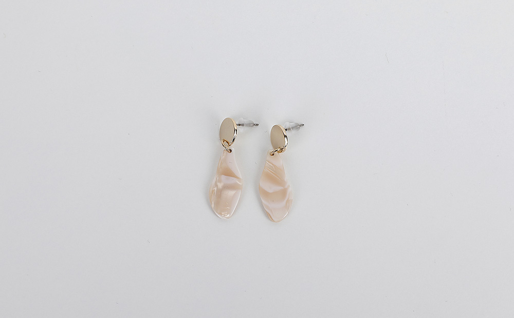 gold by pice earrings (3colors)