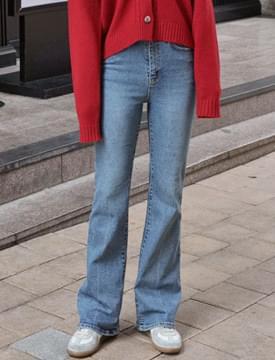 Deep long boots-cut denim_K (size : S,M,L)