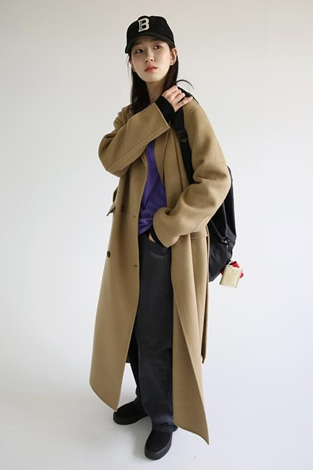 acne double handmade coat (2colors)