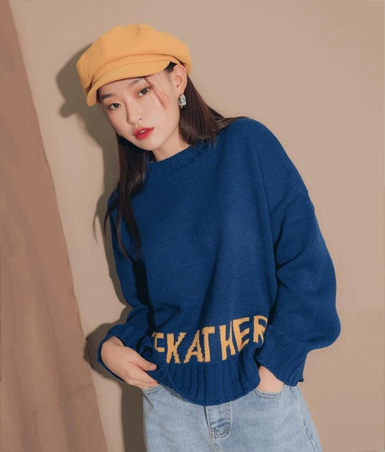 Amy color knit