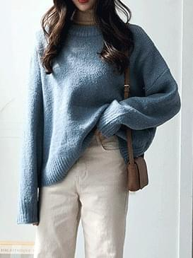 Wool alpaca dod knit