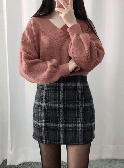 Wool 40% Vigorie Angora knit