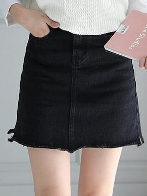 Vincent denim skirt
