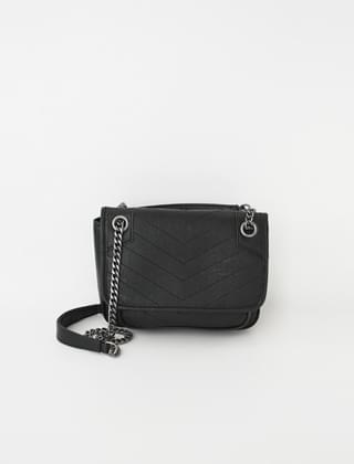 stitch pattern chain bag (2colors)