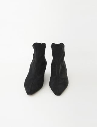 tender texture ankle boots (2colors)