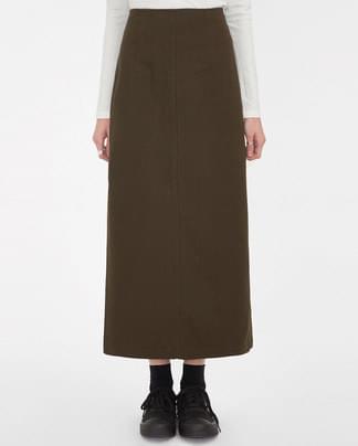 mousse long skirt (s, m)