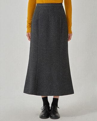 herringbone mermaid skirt (s, m)