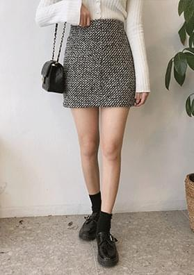 Lavon - Tweed skirt