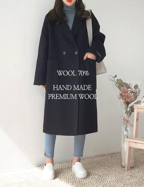 Vera double wool coat