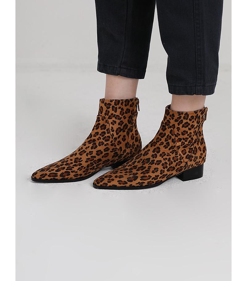 vie Line ankle boots (3colors)
