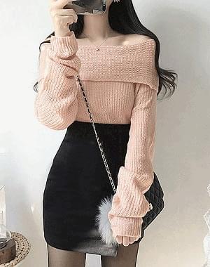 Dress up shoulder knit