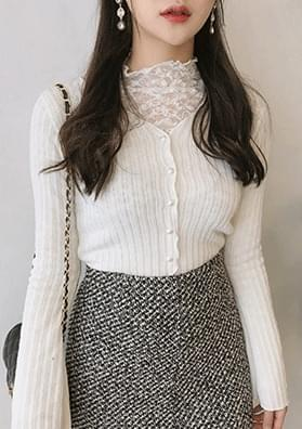 Shurin - lace + cardigan set