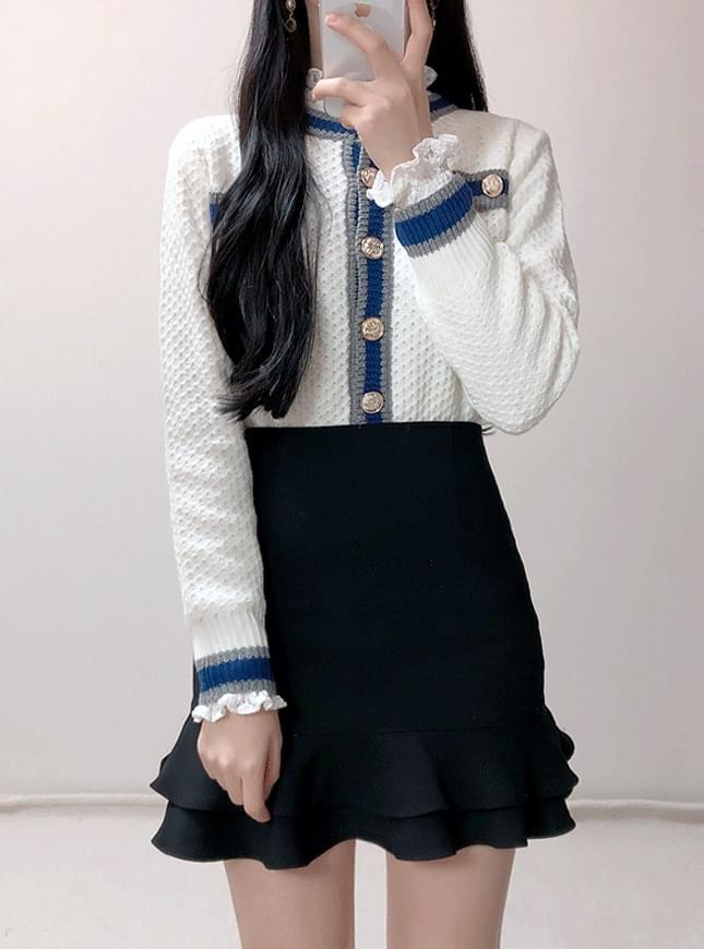 ♥ Amen color knit cardigan