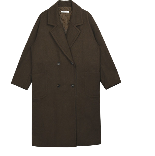 Lois O Buffett Long Coat # New Deal Discount # Uniform Discount