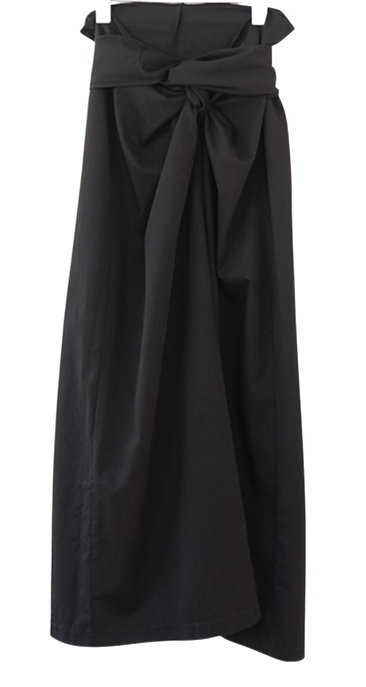 twist wrap skirt (2colors)