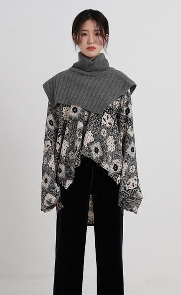 neck warmer item knit (4colors)