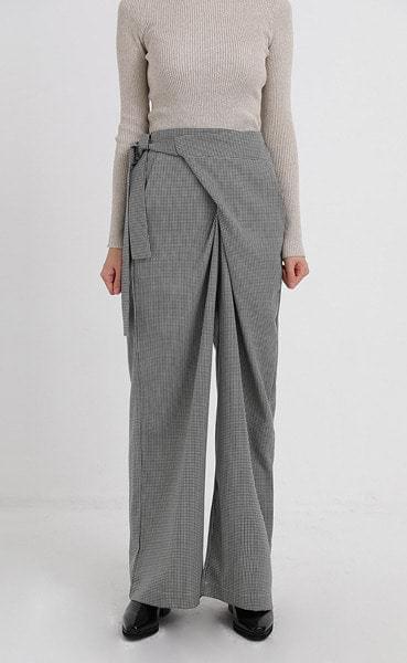 check lap pants (2colors)
