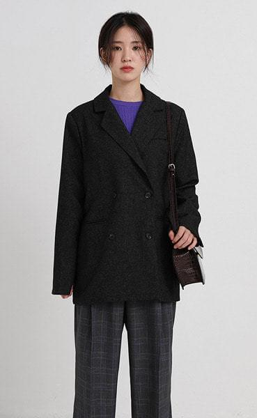 solid double jacket (2colors)