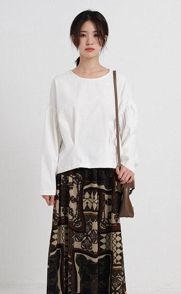 pitch balloon blouse (3colors)