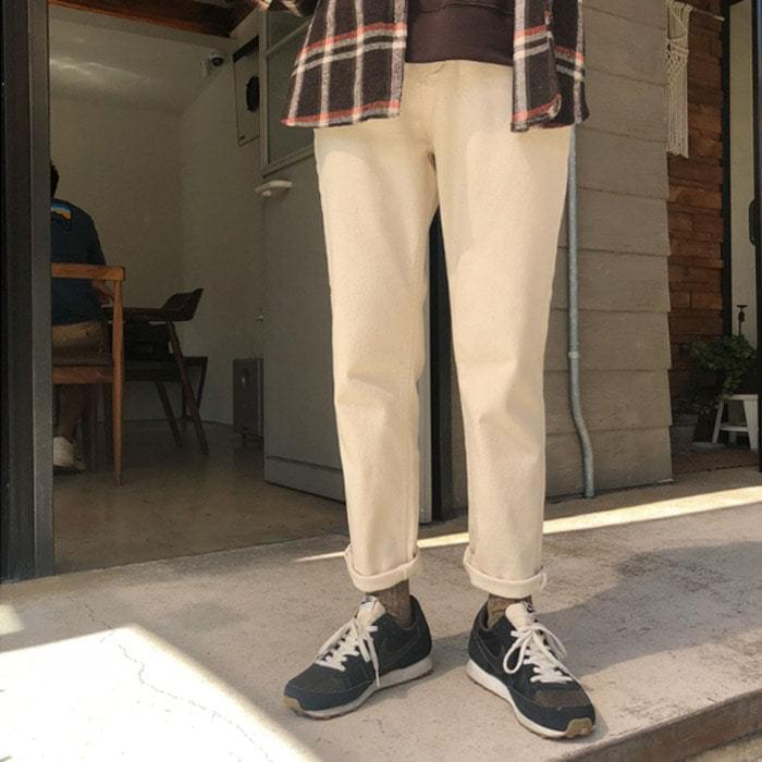 Source-Basic Date Pants