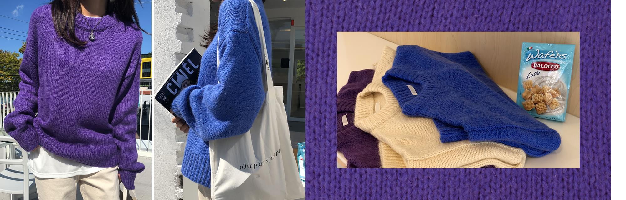 October-mohair knit