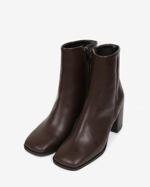square toe ankle boots (225-250)