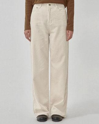 stone long corduroy pants (s, m)
