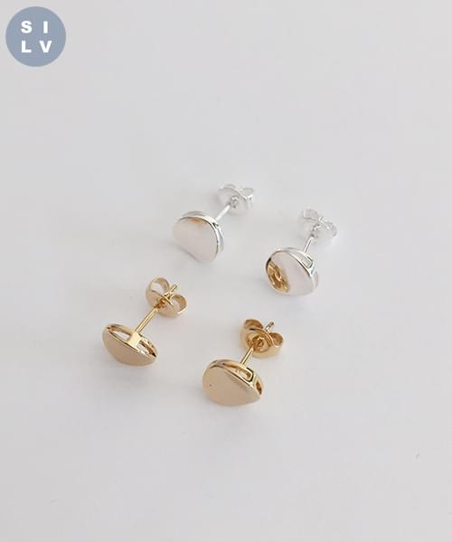 (silver925) call earring