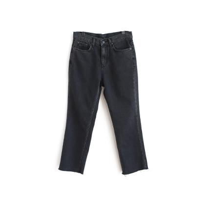 J. Charcoal Straight Jean