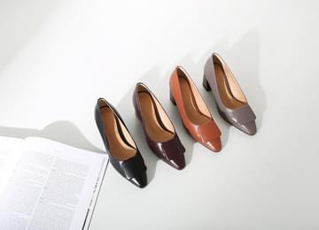 Feminine Middle Heel Pumps