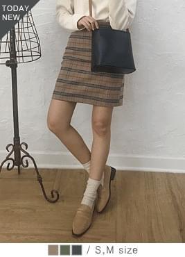 Hash check skirt