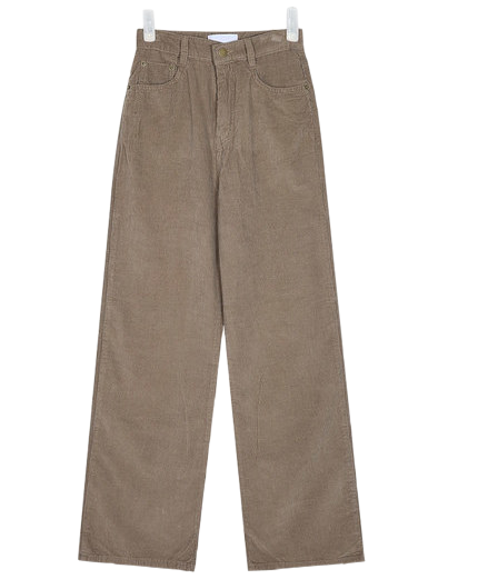 stone long corduroy pants (s, m)