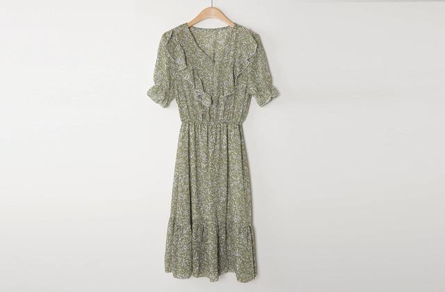 Flush Chiffon Dress