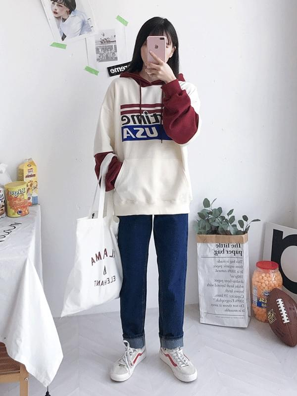 USA Time Color Hoody