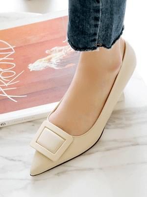 Unique Flat Shoes 3cm