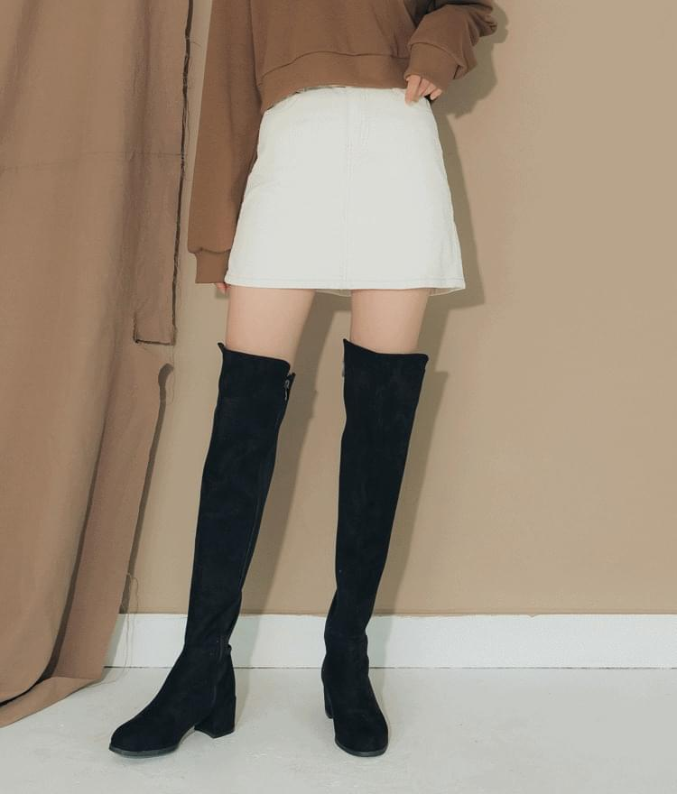 6643 corduroy skirt