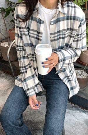 Morning-Frannel Check Shirt
