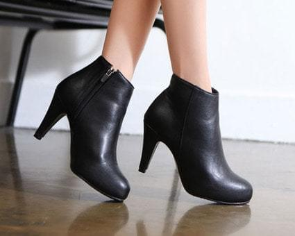 Dual Basic Ankle Boots