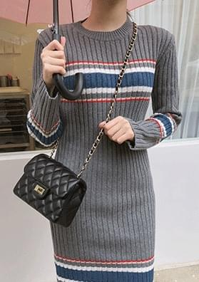 Rant - Long knit dress color