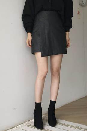Mini-skirt with expresso