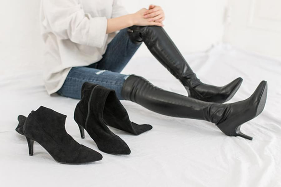 Simple thigh boots _ss02773