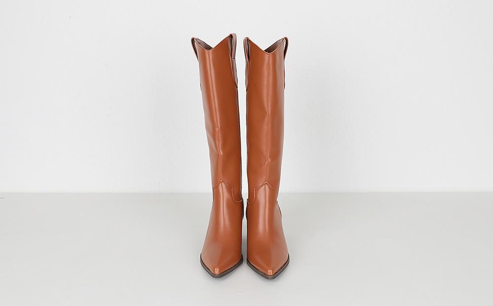 gloria edge high boots (2colors)