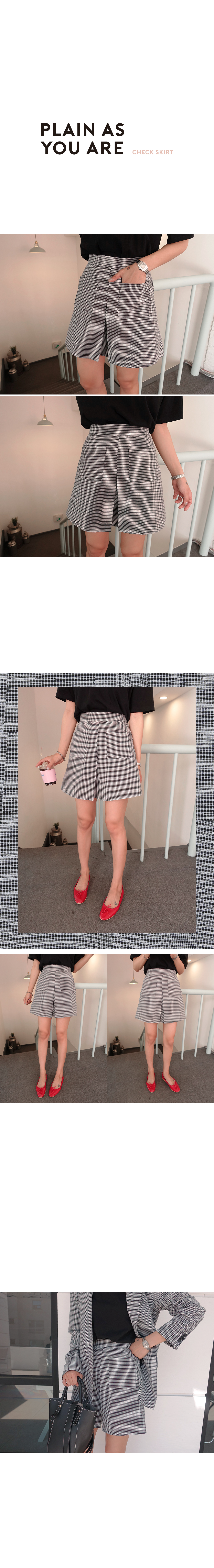 Charlie-Searsucker skirt