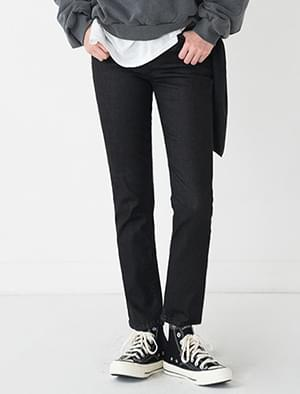 basic slim fit pants